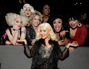 <> at The Abbey on April 20, 2011 in West Hollywood, California.